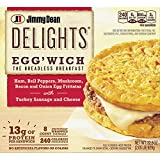 Evaxo Jimmy Dean Delights Egg'wich Breakfast Frittatas, Frozen (8 ct.)