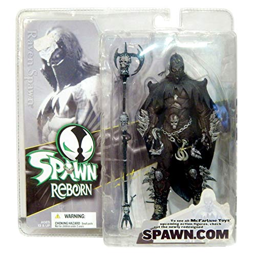 Mcfarlane Spawn Reborn Series #1 Action Figure - Raven Spawn