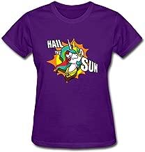 XLHL6OJ Womens HAIL THE SUN Culture Scars T Shirts 100% Cotton