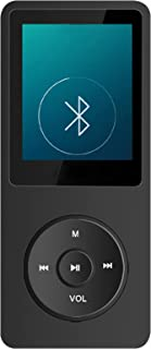 $59 » SHIXUE MP3 Bluetooth Player for Children, Multiple Functions, Support Bluetooth to Carry Around, Convenient and Fast,Black