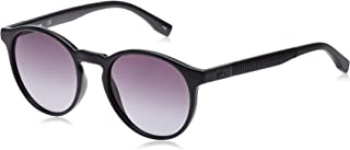 Lacoste Round Sport Inspired Black Sunglasses For Women 52-19-140mm