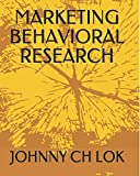MARKETING BEHAVIORAL RESEARCH (MARKET DEVELOPMENT)