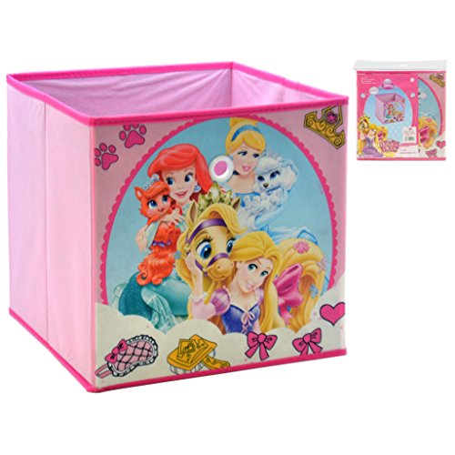 Disney Princesas Caja ALMACENAJE 31X31X31 REMATE Princesas, Multicolor, 31x31x32