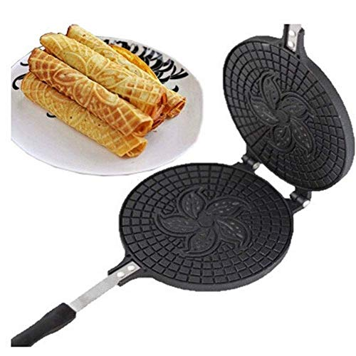 Buy Non-Stick Omelet Waffles for The Baking Pan Cake Aluminium Alloy Bakeware Crispy Machine Omelet ...