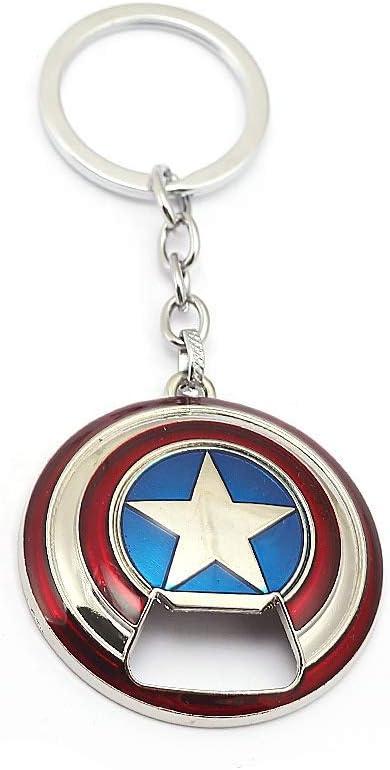 Nidavellir Luxury goods Captain America New sales Keychain Opener Bottle Shield