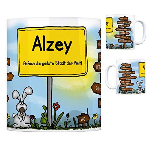 trendaffe - Alzey - Einfach die geilste Stadt der Welt Kaffeebecher