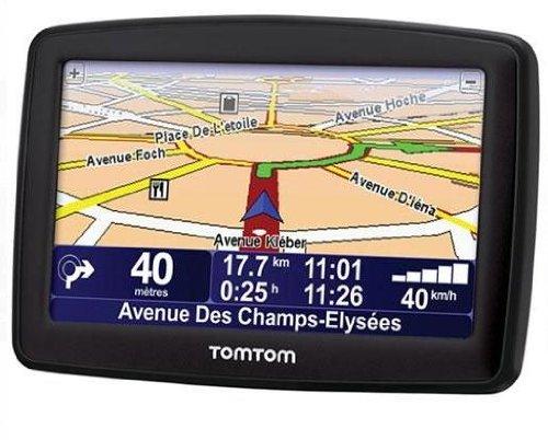 TomTom XL Black Edition 2009 Europe Traffic Navigationssystem inkl. TMC (10,9 cm (4,3 Zoll) Display, Europakarte)