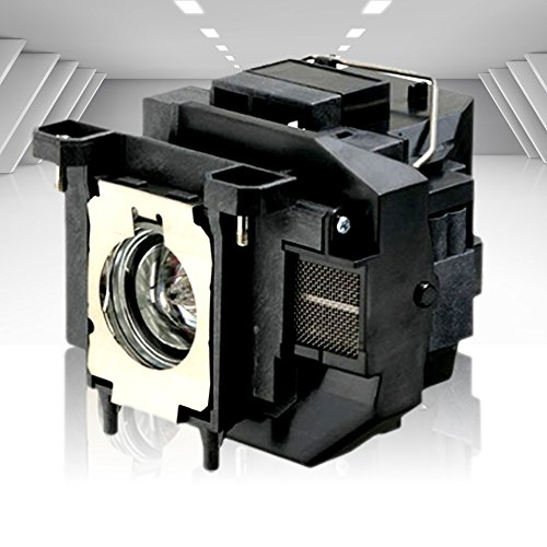 Supermait EP67 A+ Calidad Lámpara Bulbo Bombilla de Repuesto para proyector con Carcasa, Compatible con Elplp67, Adecuada para EB-S02 EB-S11 EB-S12 EB-SXW11 EB-SXW12 EB-W02 EB-W12 EB-X02 EB-X11