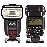 Impulsfoto - Flash di alta qualità Meike MK600 (LZ 60) compatibile con fotocamere Canon con slitta flash - E-TTL II - come Canon 600 EX