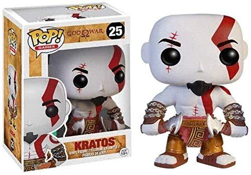 A-Generic Pop God of War 4 Kratos Bobblehead Figura 269# Decoración de Coche (Color: A) -A-A-UN