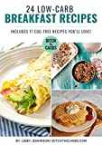 Low-carb Breakfast Cookbook book cover