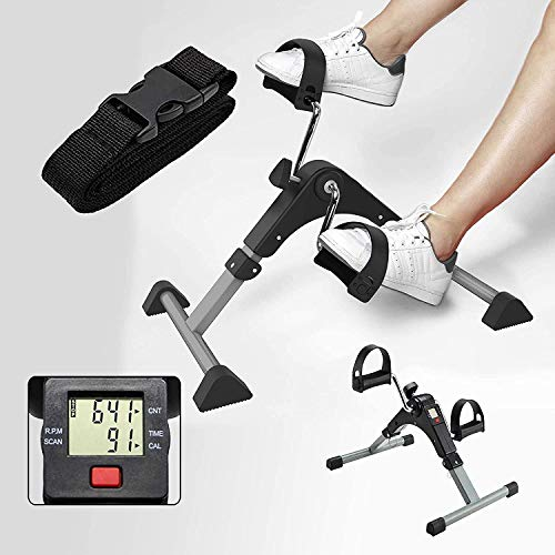 A V enterprise Digital Pedal Exerciser LCD Counter Exercise Bike Indoor Fitness Resistance Home Use