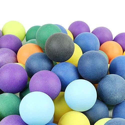 Enjoyall Pelotas de ping pong en satén ABS 40 + mm 2,8 g, colores mixtos para el entrenamiento de tenis de mesa