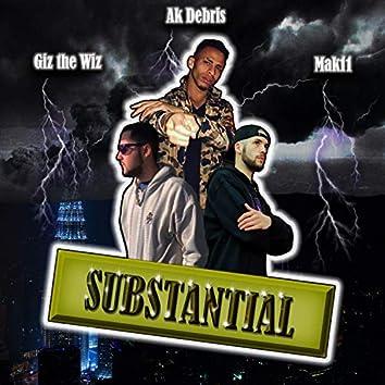 Substanial (feat. Mak11 & Ak Debris)
