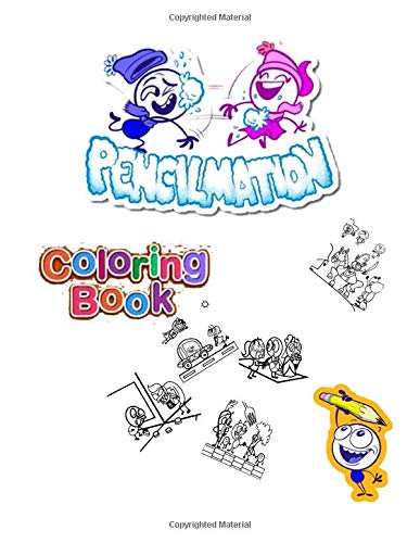 pencilmation abc coloring book for kids: Fun Coloring Books for Toddlers & Kids Ages 2, 3, 4 & 15 - Activity Book Teaches , Preschool Prep Success.
