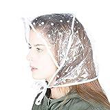 Genius Ideas Capuches de Pluie (5) Chapeau, Transparent, Unique Femme