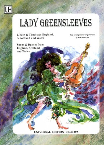 Lady Greensleeves. Gitarre