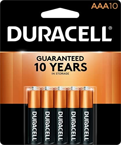 Duracell CopperTop AAA Alkaline Batteries long lasting all purpose Triple A battery for household product image