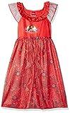 Disney Girls' Toddler Princess Fantasy Nightgown, Elena of Avalor - Red as Royalty, 2T