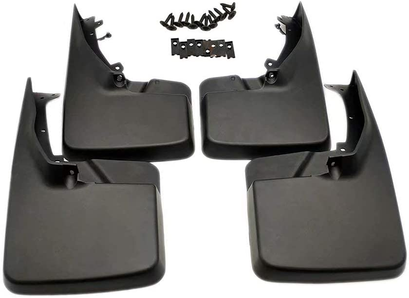 WGL New Front Rear Deluxe Molded Mud for Guards Ranking TOP4 2 Flaps Spring new work Splash