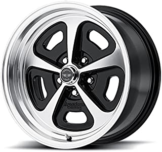 AMERICAN RACING VN501 500 MONO CAST Wheel with BLACK and Chromium (hexavalent compounds) (15 x 7. inches /5 x 72 mm, 0 mm Offset)