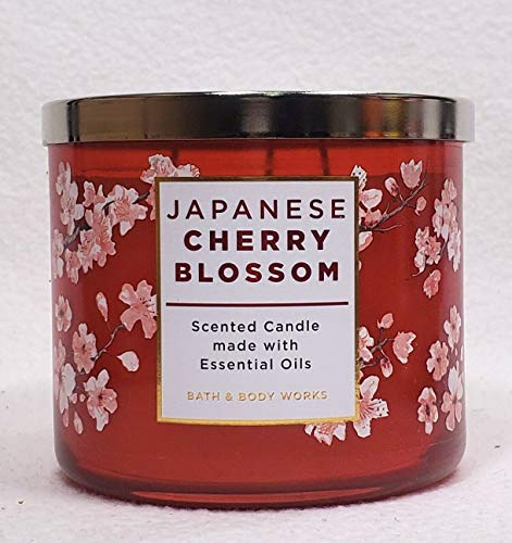 Bath and Body Works JAPANESE CHERRY BLOSSOM 3-Wick...