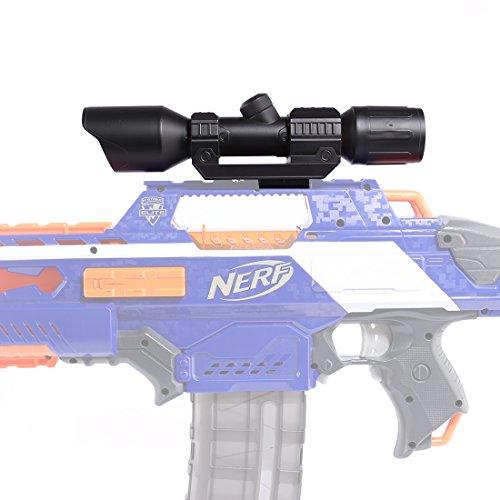 GODNECE Modulus Zielfernrohr Spielzeugblaster Visiergerät Upgrade Zielfernrohr für Nerf