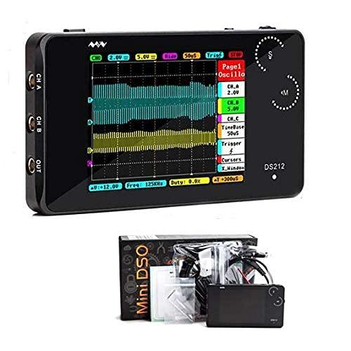 HYCy Mini DSO 4 Canales 100MS / S DSO213 Nano Quad Actualización de osciloscopio Digital de Bolsillo de DS203 DSO203 DS212 DSO212,1