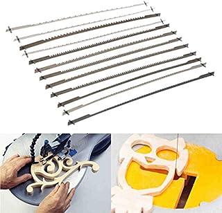 comprar comparacion 12 hojas de sierra de desplazamiento con dientes fijados de 12,7 cm (10/15/18/24 dientes) para carpintería, accesorios de ...