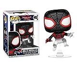 Funko Pop Marvel: Animated Spider-Man Movie - Miles Morales Spider-Man Translucent (Exclusive)...