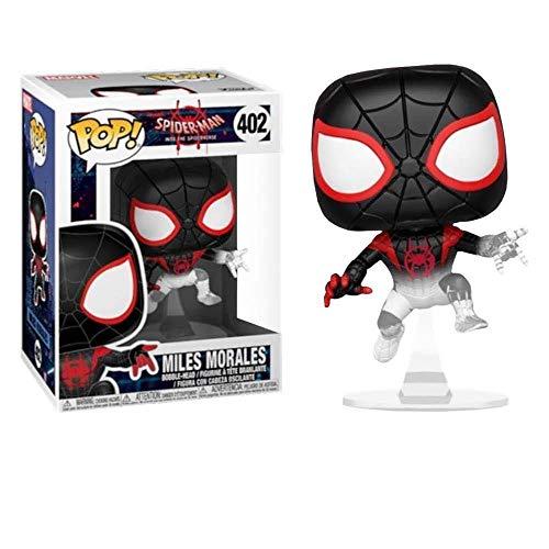Funko Pop Marvel: Animated Spider-Man Movie - Miles Morales Spider-Man Translucent (Exclusive)