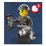 Lego Minifigur Filmreihe LEGO Die LEGO Minifiguren FILM # 71004 Graffiti Gesicht von Bad Cop minifigs blockieren Baustein