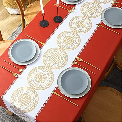 SUNFDD Mantel Antiarañazos De PVC Impermeable Y Aceite Mantel De Hotel Europeo Y Americano Mesa De Comedor Manta De Picnic Al Aire Libre 90x150cm(WxH) G