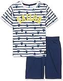 Billy Blue BG.PIEUV.PSH1 Conjuntos de Pijama, Blanco (Blanc Marine), 4 años para Niñas