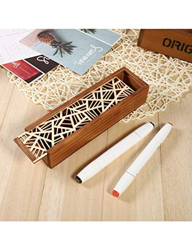 Preisvergleich Produktbild JJZS Wohnaccessoires Holz Schmuck Fall Box Desktop Schreibwaren Speicherorganisator Make-Up Schmuck Uhr Ohrringe Halskette Verwenden Sie 4 Arten