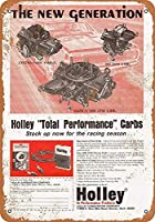 ホリー高性能キャブレター メタルポスター壁画ショップ看板ショップ看板表示板金属板ブリキ看板情報防水装飾レストラン日本食料品店カフェ旅行用品誕生日新年クリスマスパーティーギフト