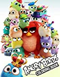 Angry Birds Coloring Book: Angry Birds Jumbo Coloring Book With Cool Images For All Funs