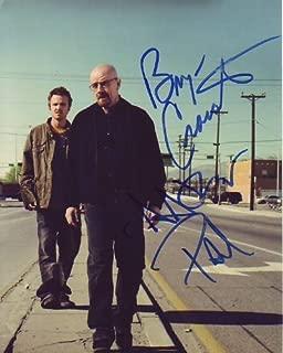 Breaking Bad cast 8x10 reprint signed photo #5 RP Cranston Paul