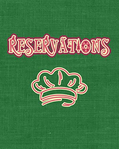 Reservations: Retro Vintage Restaurant Reservation Book   Guest Booking Diary   Hostess Table Log Journal   Record and Tracking for Restaurants   Retro Vintage Green Christmas Cloth
