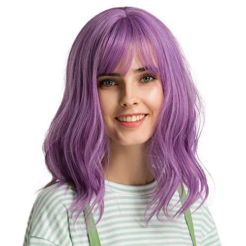 comprar pelucas mujer violeta