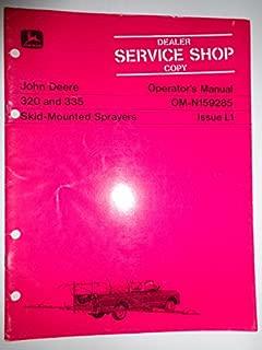 Best john deere 320 owners manual Reviews