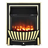 Beldray EH2352 Almada Premium Inset and Free Standing Electric Fire, 2000 W, Bra