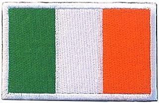Irland irländsk flagga broderad airsoft paintball cosplay lapp
