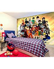 One Piece Naruto Goku Anime Fotobehang behang 3D Photo Wallpaper Mural