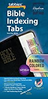 Rainbow Bible Indexing Tabs Including Catholic Books -