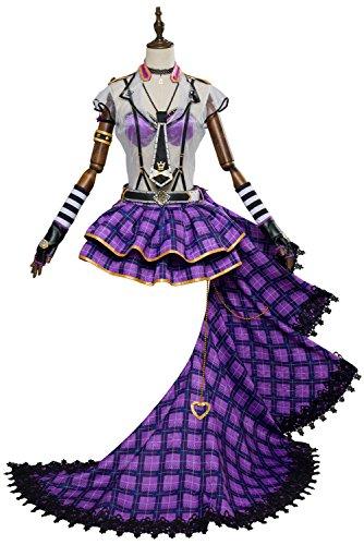 dolass Ohara Mari Cosplay Anime Steampunk Cosplay Halloween Disfraz Sexy Uniforme Vestido Conjunto Completo