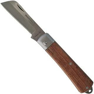 (まとめ) 折りたたみ式電工ナイフ 【スタンダードタイプ×5セット】 マーベル MEK-70