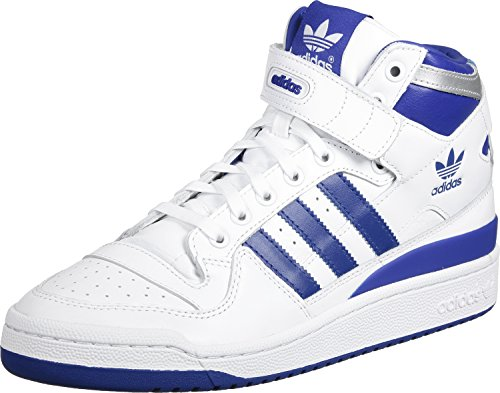 adidas Forum Mid Refined Scarpa white/royal/silver