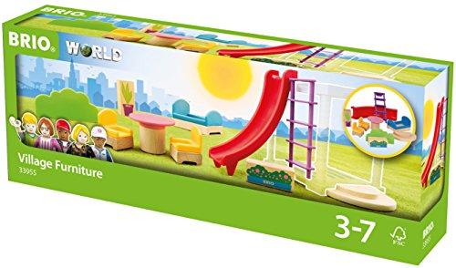 BRIO- Paquete de expansión de mobiliario de World Village (33955)