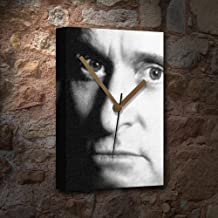 MICHAEL DOUGLAS - Canvas Clock (LARGE A3 - Signed by the Artist) #js001
